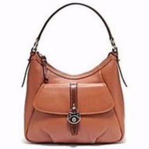 Dooney & Bourke Brown Samba Leather Bag